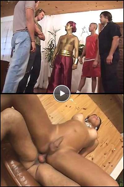 black tranny whacker video